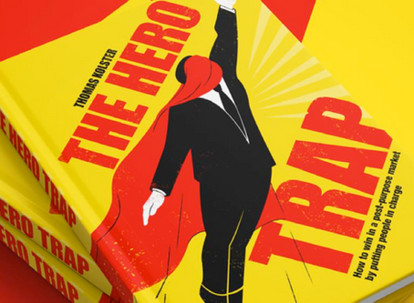 """""""The hero trap"""": a book with a new challenge about companies' sustainability purpose"""