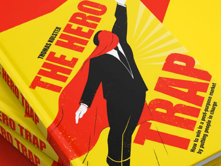 """The hero trap"": a book with a new challenge about companies' sustainability purpose"