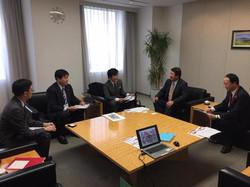 NTTドコモ 山田隆持 取締役と災害対策とオリパラに向けた意見交換