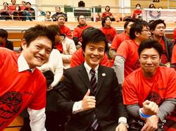 地元バスケチーム 東京八王子トレインズの応援