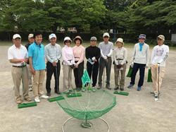 平山台文化スポーツクラブ ターゲットバードゴルフの皆さんと