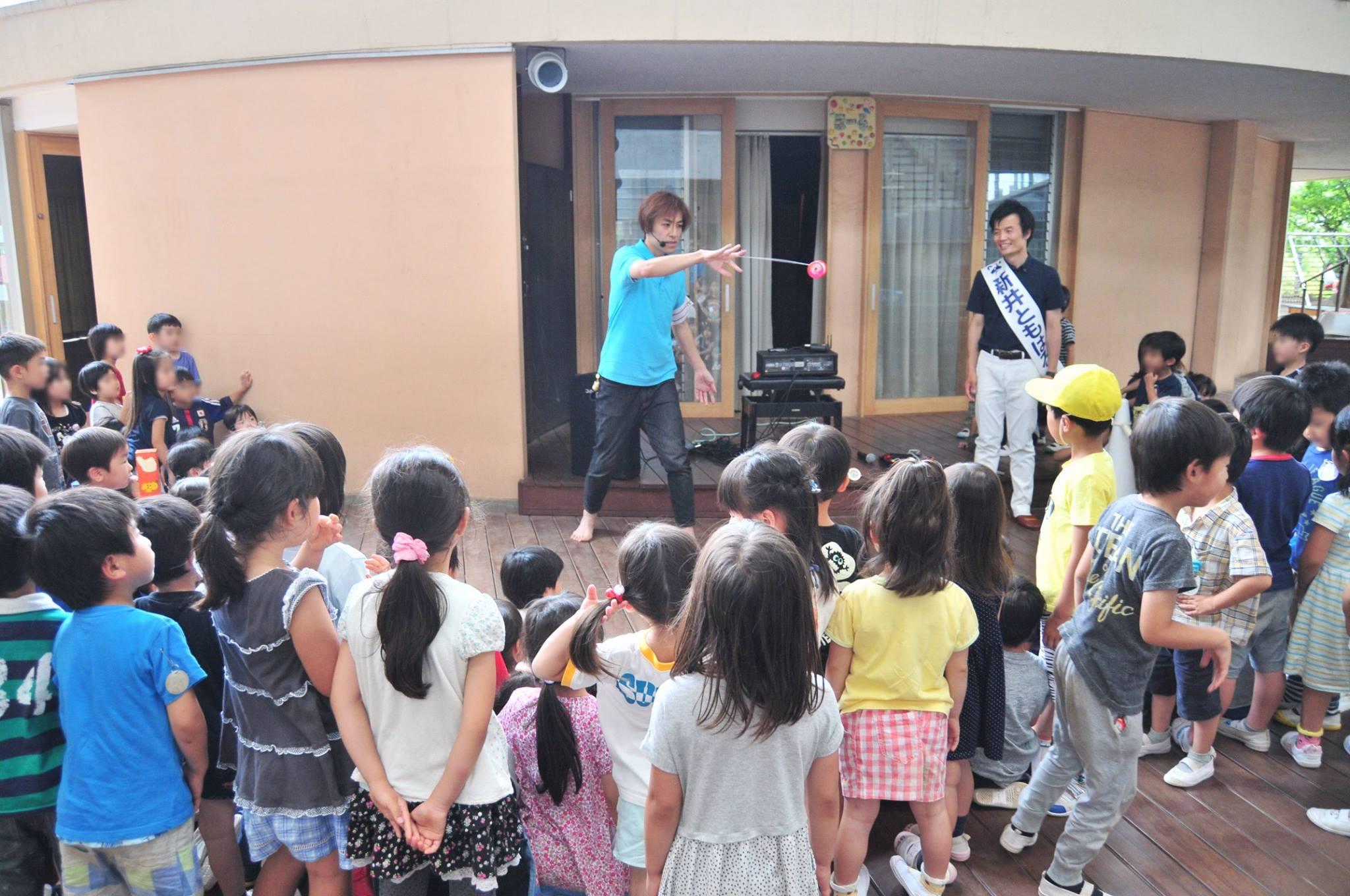たまだいら幼稚園と、世界ヨーヨーチャンピオン