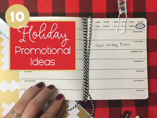 10 Holiday Promotional Ideas