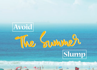 How To Avoid The Summer Slump!
