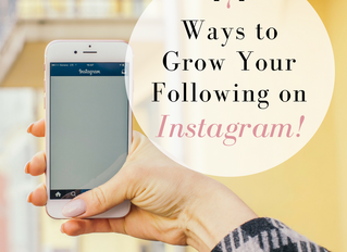 Instagram Checklist: 7 Ways to Grow Your Following!