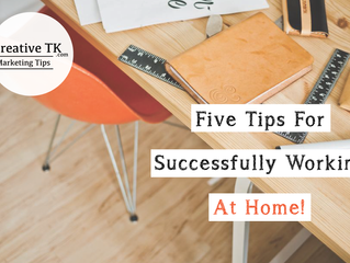Five Tips For Successfully Working At Home (cc: Entrepreneurs)