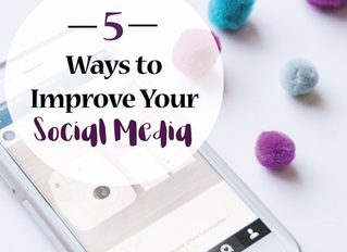 5 Ways to Improve Your Social Media Followers