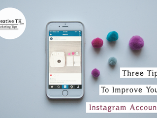 Three Tips To Improve Your Instagram Account!