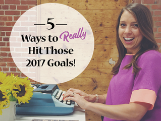 5 Ways to Really Hit Those Goals