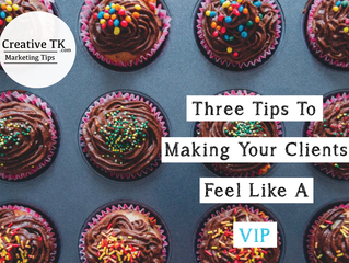 Three Tips for Making Your Clients Feel Like A VIP