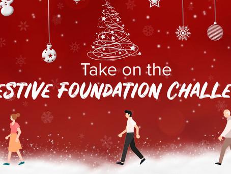Take on the Festive Foundation Challenge and walk a Marathon!