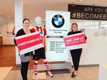 BMW Soper Join Lincoln City Half Marathon Team