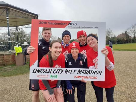 Lincoln City Half Marathon does Lincoln Parkrun