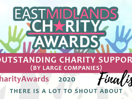 Foundation Celebrate at East Midlands Charity Awards