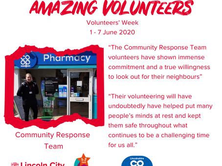 Amazing Volunteers: Community Response Team