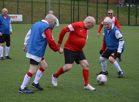 Walking Football Team Make Their Match Debut