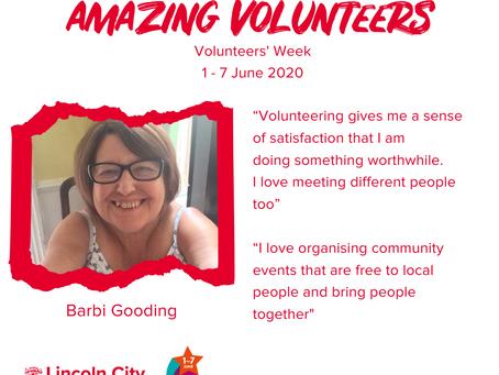 Amazing Volunteers: Barbi Gooding