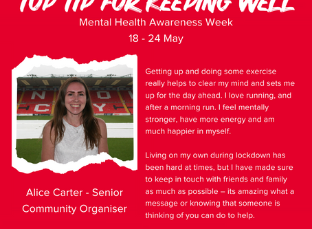 Foundation Staff Share Well-being Tips