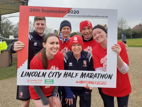 Lincoln City Half Share their City Route