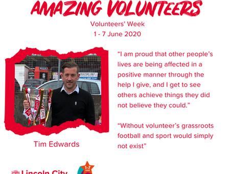 Amazing Volunteers: Tim Edwards