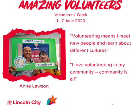 Amazing Volunteers: Anne Lawson