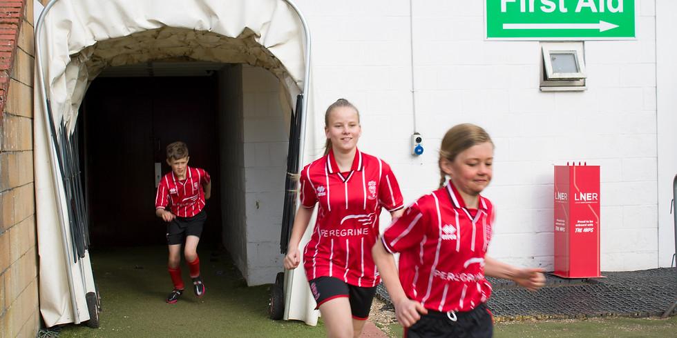 Girls Trials    Under 9's - Under 10's