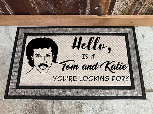 Hello Cutting Board, Kitchen Towel, Welcome Mat, Coaster