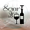Thumbnail: Screw It with wine bottle and glass Cutting Board, Trivet or coaster