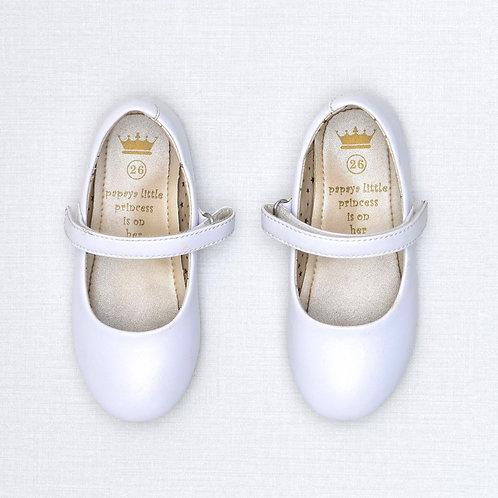 Size 26 | Papaya | נעלי בובה חגיגיות