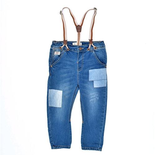 2-3Y   ZARA    ג'ינס בשלייקס