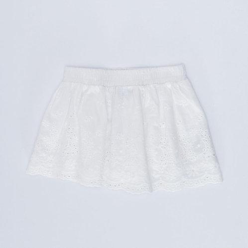 2Y   KEDS   חצאית תחרה לבנה