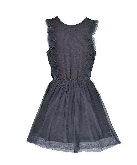 10Y | Monoprix | שמלת טול אפורה