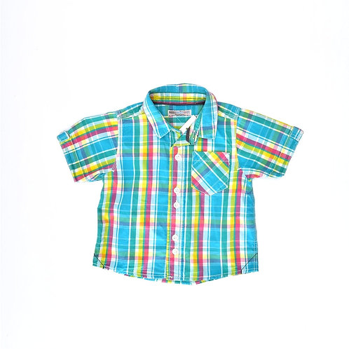 12-18M | Indigo | חולצת קשת
