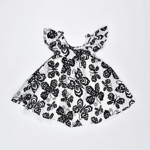 0-3M | The Children's Place | שמלת פרפר