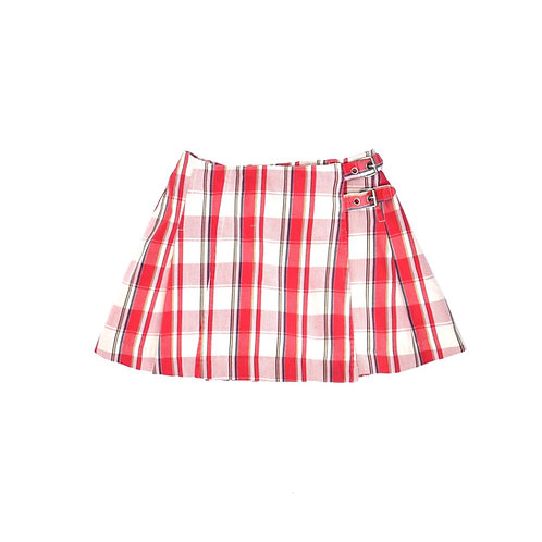 3-4Y   ZARA   חצאית מעטפת סקוטית