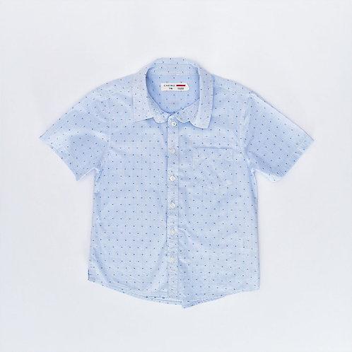 7-8Y   CASTRO   חולצת תכלת חגיגית