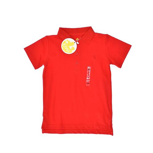 4Y   KIWI   חולצת פולו אדומה