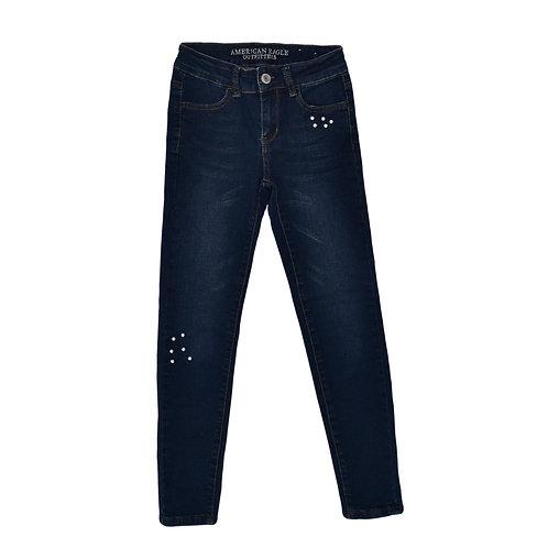 9-10Y | American Eagle  | ג'ינס פנינים