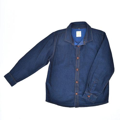 8-9Y | GOLF  | חולצת כחולה