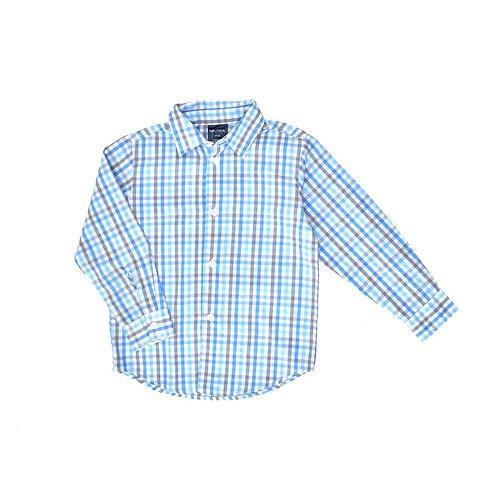 3-4Y   NAUTICA   חולצת משבצות