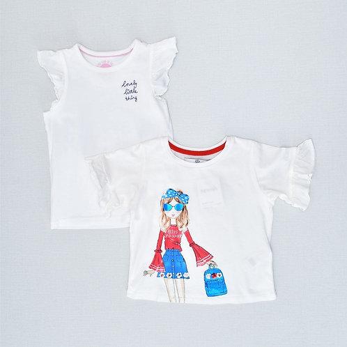 4Y   M&S/NEXT   זוג חולצות חופשה