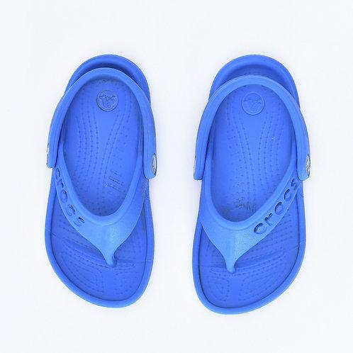 Size 25 | Crocs | סנדלי אצבע כחולים