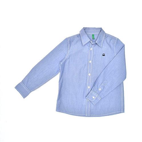 6-7Y | Benetton | חולצת פסים חגיגית