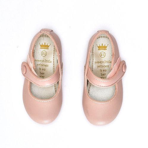 Size 21   Papaya   נעלי בובה פודרה