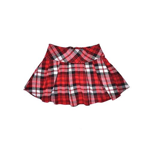 6-8Y | CASTRO | חצאית פעמון סקוטית