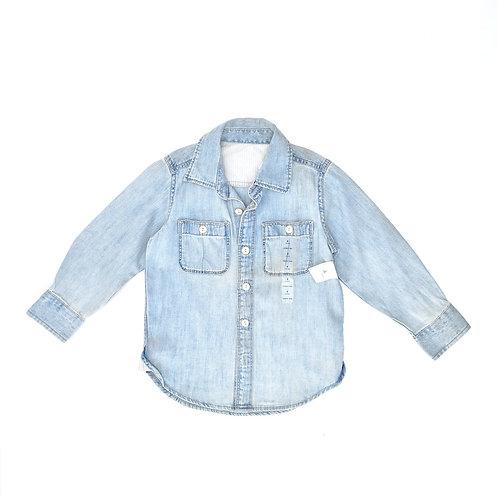 4Y   GAP   חולצת ג'ינס ווש