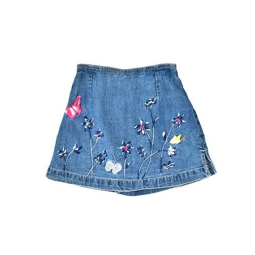 3Y | GAP | חצאית מכנס רקומה