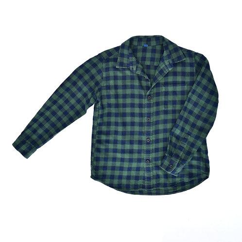 7-8Y | UNIQLO | חולצה משובצת