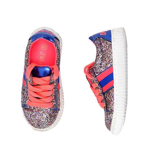 25 | Bilieblush | נעלי סניקרס מנצנצות