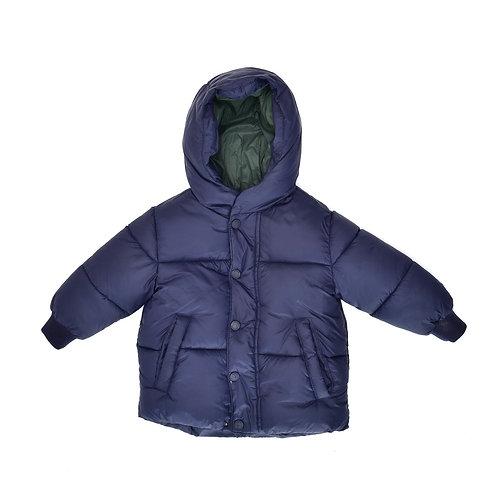 12-18M | ZARA | מעיל פוך כחול